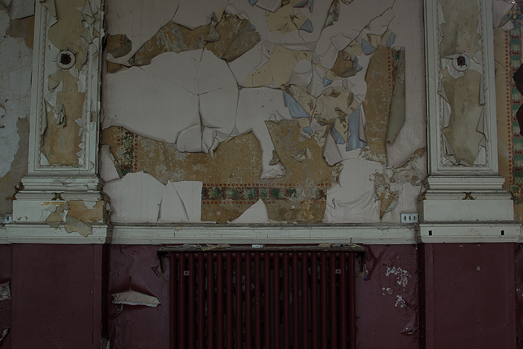 Uncovered Old Wallpaper
